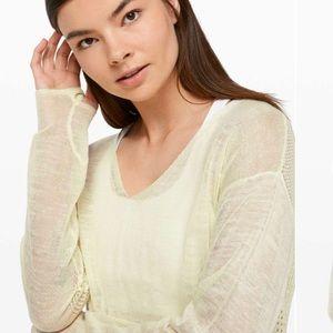 lululemon Still Movement Sweater * Linen (NWT)